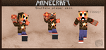 Minecraft character by griffsnuff