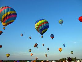 Balloon Festival 16 by Dracoart-Stock
