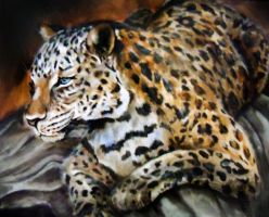 Leopard by artfullycreative
