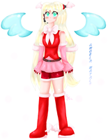 OC_Vocaloid : Angela_Natale by AquaPatamon