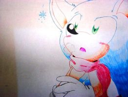 Snow for Sonic by LoaS-ScourgeTH