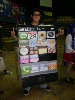 Iphone cosplay by chichistar