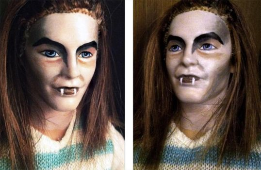 Vampire Doll Facepaint (and Hair) by BWCat