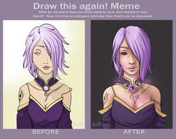 Draw this again meme by Rigrena