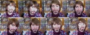 Male make-up test by Grethe--B