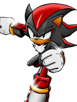 Shadow The Hedgehog full color by SegaXNintendo