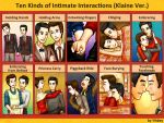Klaine-Ten Kinds of Intimate Interactions by Yihbey