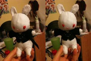 Sebby Bunny Plush-not finished by Shaneroma
