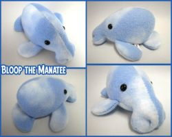 Bloop the Manatee by mintconspiracy