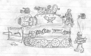 Boris Tank Destroyer by Borishehe
