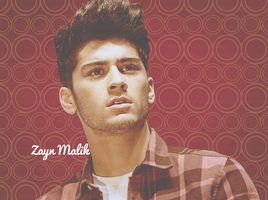 Zayn Malik Circles Wallpaper by iluvlouis