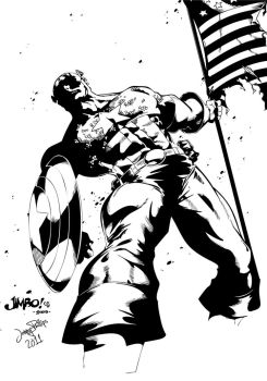Captain America by JonnyPhillips