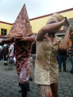 Pyramid Head 2 by FX-Moonster