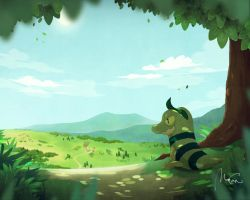 Beyond The Forest by zerudez