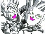 ssj trunks and ssj goten by trunks24