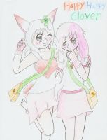 Happy Happy Clover People by KunoichiAyu