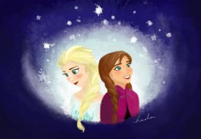Frozen by nahsiah