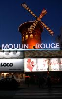Le Moulin Rouge by positively