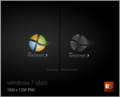 Windows 7 Glass by eugensecuiu