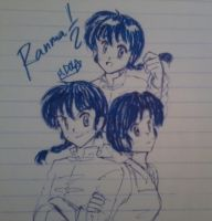 Ranma 1-2 by Dark0Light