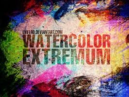 Watercolor Extremum Brush by analeewon