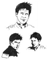 SGA sketches - more Sheppard by astridv