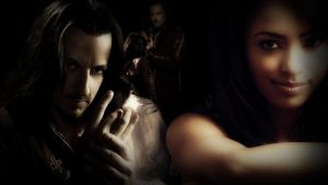 Emily and Darken Rahl by CryingGypsy