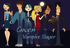 Gwen the Vampire Slayer by DisneyWiz