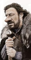 NED STARK by JaumeCullell