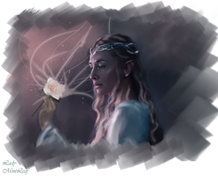 Galadriel-Flower by LadyMintLeaf