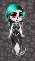 Adoptable: Skeletal [CLOSED] by XxdeathbiscuitxX