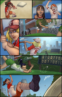 Amy Jo Beth Softball Sequential_COMMISSION by vest