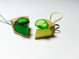 Key Lime Pie Charm by exeriox