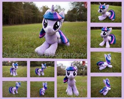 17 inch Alicorn Twilight Sparkle by PlushWaifus