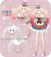 [CLOSED] Adoptable 01: Union Jack Girl by Staccatos