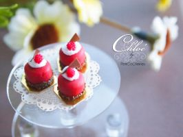 Chloe-RaspberryCake collection by PetitDeCherries