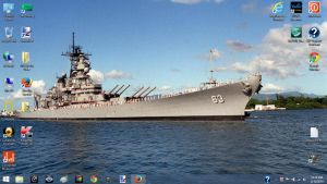 Latest Desktop Background by RMS-OLYMPIC