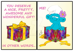 An Amazing Gift by acla13