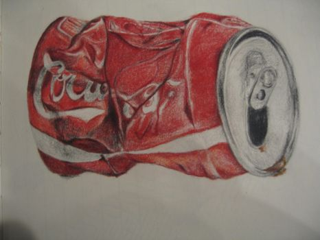 crushed coke can by agsxx