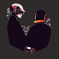 Daft Punk Cuties by teaofrage