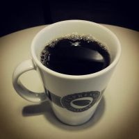 Just a cup of black coffee by attomanen