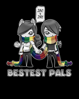 Bestest Pals - Color 3 by zacpfaff