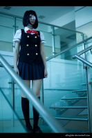 Stairs - Misaki Mei form Another by altugisler