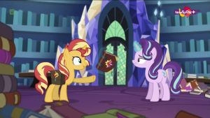 Sunset Shimmer meets Starlight Glimmer by Starman1999