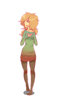 Pixel Girl by Killyhawk