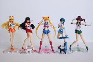 Sailor Moon S.H. Figuarts Inner Senshi Collection by KatherineAlyce