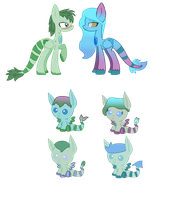 Breedable With Sickly Shadows 3/4 open by snowkit96