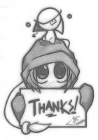 Thanks by InnocenceEvil