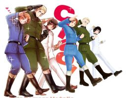 MMD Hetalia CIAO! Pose Dl by Subsquentual