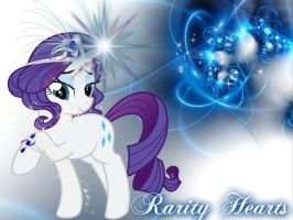 Rarity Hearts~ by Mobin-Da-Vinci